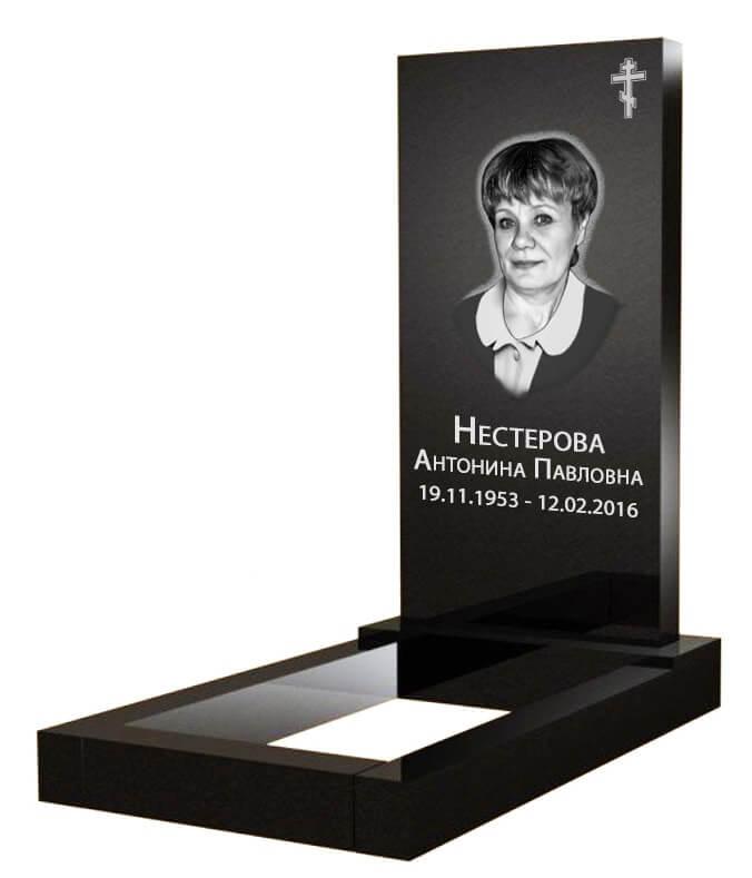 Цена на памятники с установкой Обнинск памятники из красного гранита для двоих фото